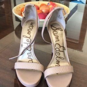 Sam Edelman strappy healed sandal